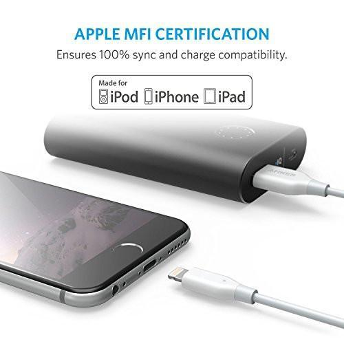 iPhone Charger, Anker PowerLine Lightning Cable (3ft), MFi Certified for iPhone 7 / 7 Plus / 6 / 6 Plus / 5S Tajori