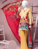 Junaid Jamshed Ladies Stitched Collection JLAWN-S-18-028/A/S Margaret Soul Tajori