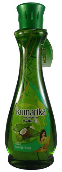 Kumarika Herbal Hair Fall Control Hair Oil 200ML (With Roots) Tajori