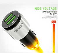 LDNIO C403 Car Charger 2 USB Port With Quick Charging 4.2A For Smart Phones Tajori