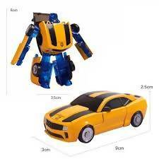 Legendary Transformers toy mini car toy Bumblebee Optimus entry level deformation robot model Children Educational Puzzle Tajori