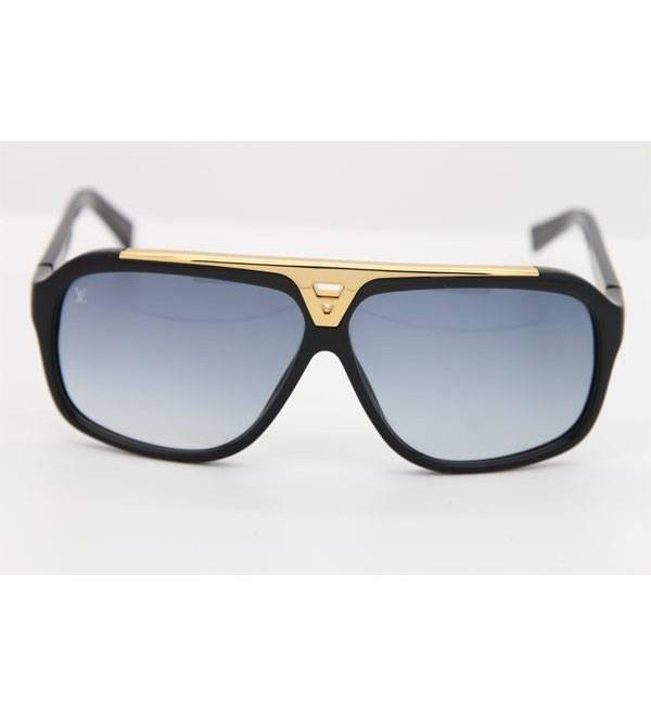 addb456fa4f Buy Louis Vuitton Evidence Sunglasses Black Golden Online in ...