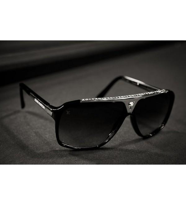 0ca379b808 Buy Louis Vuitton Evidence Sunglasses Black Silver Online in ...