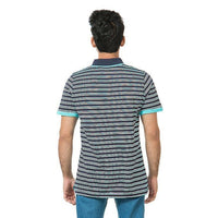 Multicolor Jersey Mercerize Polo For Men Tajori