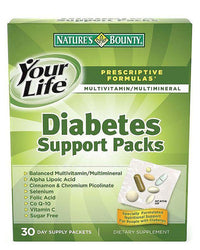Natures Bounty Diabetes Support Pack (30 Packets) Tajori