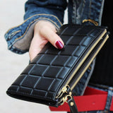 New Designer Wallet Clutch Double Zipper Purse Tajori