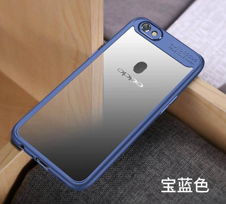 reputable site aa280 e993b OPPO F7 Ipaky Soft Flexible Case - Blue