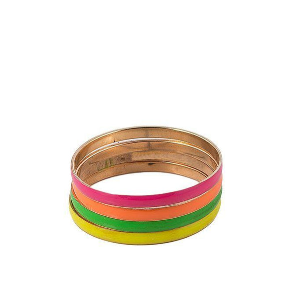 Pack of 2 Multicolour Alloy Bangles for Women Tajori