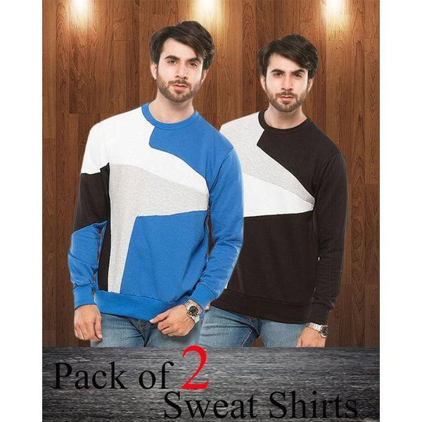 Pack Of 2 Sweat Shirts For Men - ABZ-2281 S Tajori
