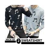 Pack Of 2 Sweatshirts For Men - ABZ-2278 S Tajori