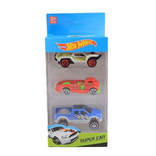 Pack of 3 - Hotwheels Cars - B Tajori