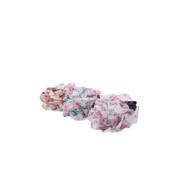 Pack of 3 - Plastic Hair Clips - Multicolored Tajori
