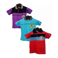 Pack Of 3 Polo Shirts For Kids Tajori