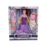 Pack of 5 Barbie Doll With Extra Dress - 15 Inch - B Tajori