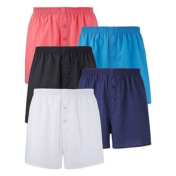 Pack of 5 boxer Shorts Multi Colors Tajori