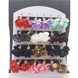 Pack Of12 Flower Tassel Earrings For Women Tajori