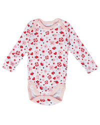 Pink Combed Cotton Bodysuit Tajori