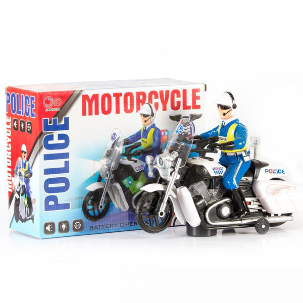 Police Motorcycle for Kids Tajori
