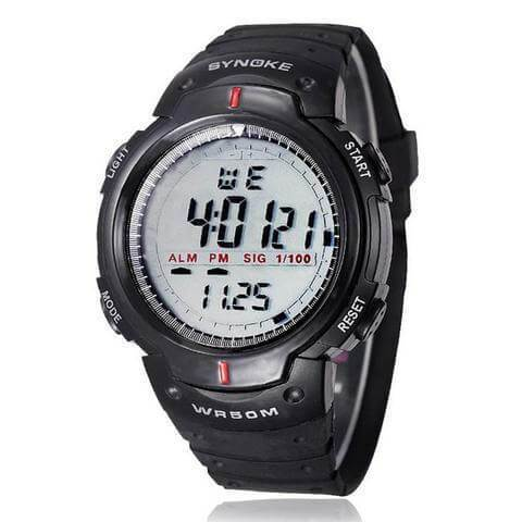 Premium Electronic LED Digital Watch 50M Waterproof Outdoor Wrist watch Tajori