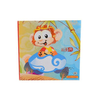 Pull Back Toy and Showpiece for Kids - Monkey Tajori