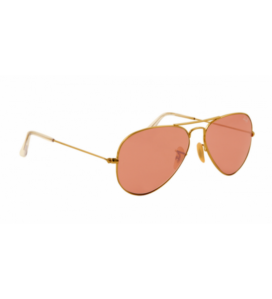 fde8549a4b Buy Ray Ban Aviator RB 3025 Sunglasses Gold Frame Crystal Pink Polarized  Lens Online in Pakistan – Tajori.pk