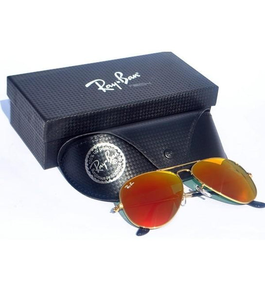 7220bf6e7eb Buy Ray Ban Rb-3025 Golden Frame Orange Shades Online in Pakistan ...
