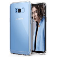 Samsung Galaxy S8 / S8 Plus Ringke Fusion Transparent Hard Case Tajori