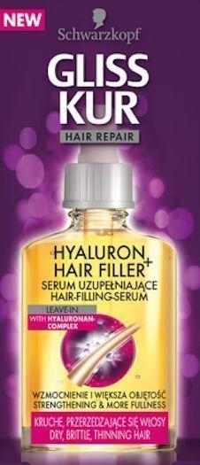 Schwarzkopf Gliss Kur Hair Repair Hyaluron Hair Filler Serum 60 ML Tajori