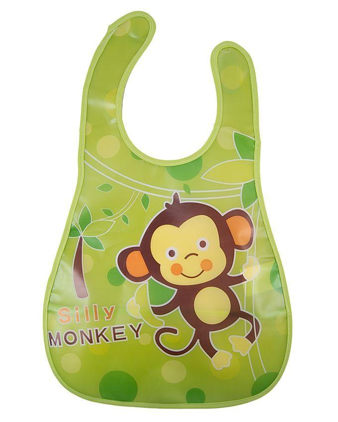 Silicone Bibs For Infants - Green