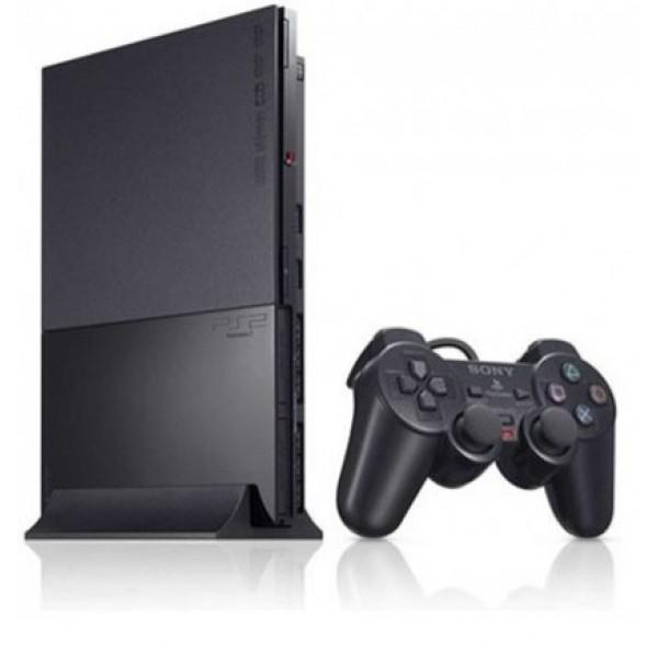 Sony Play Station 2 Black with M7 Chip Tajori