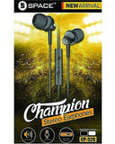 SPACE Champion Cp-526 - Stereo Earphones Tajori