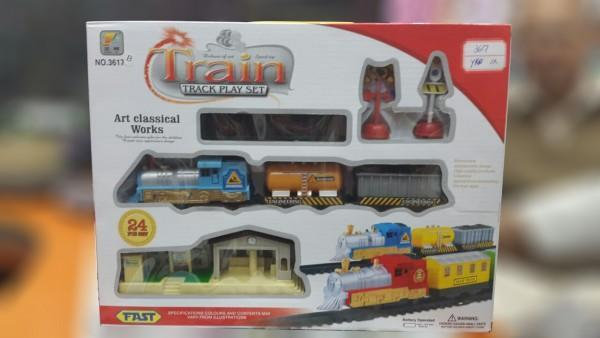 Train Track Play Set- 24PCS Tajori
