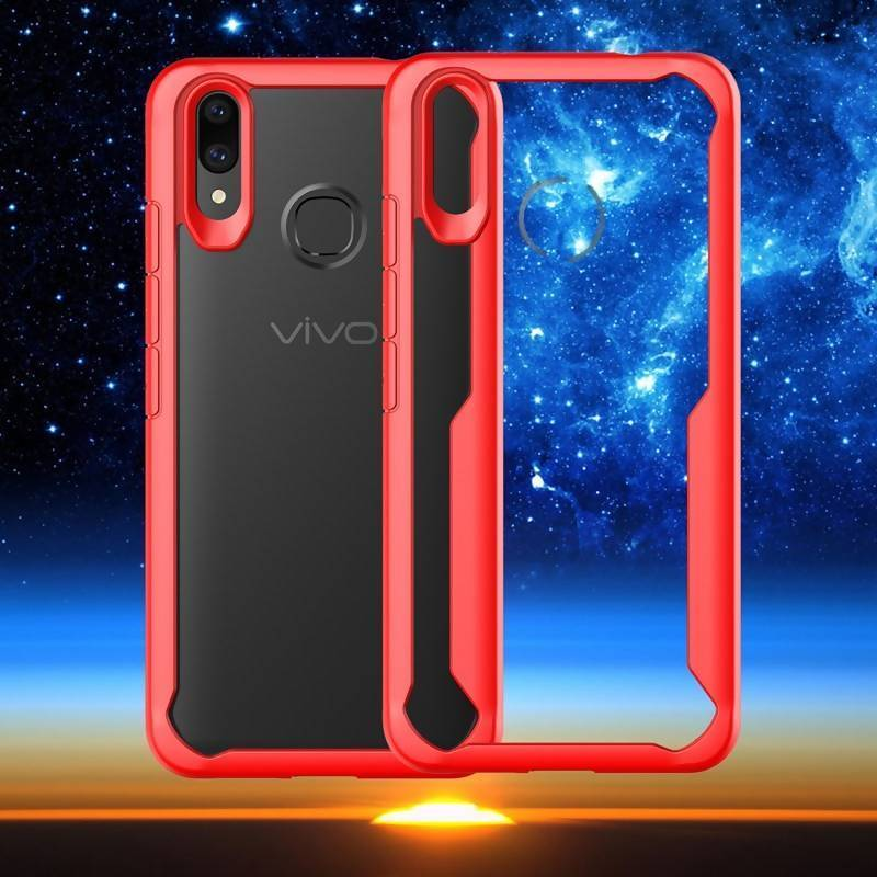 new product 93b81 cddad VIVO V9 Ipaky Soft Flexible Case - Red