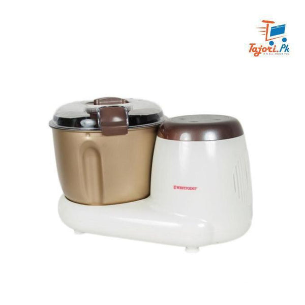 Westpoint - Dough Maker - with Roti Maker- WF-3614 - White & Golden Tajori