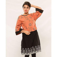 Women Kurta in Cotton Fabric Tajori