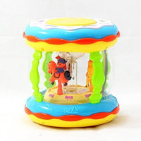 Wonder Land Merry-Go-Round Musical Drum Tajori