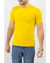 Yellow Jersey Plain T-shirt Tajori
