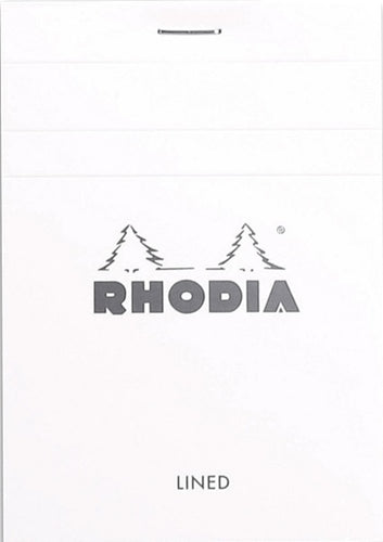 Rhodia - Ice Notepad Top Staplebound 3 3/8 x 4 3/4 Graph 80 sheets