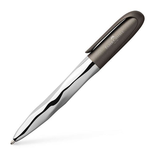 Faber-Castell N'ice Metallic Grey Ballpoint Pen