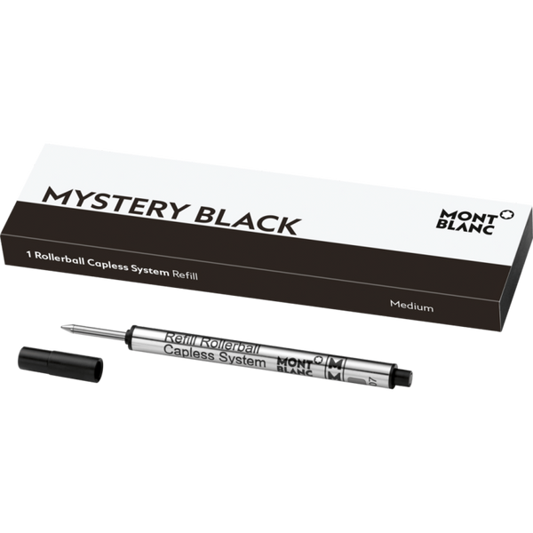 Montblanc Mystery Black Capless Rollerball Refill