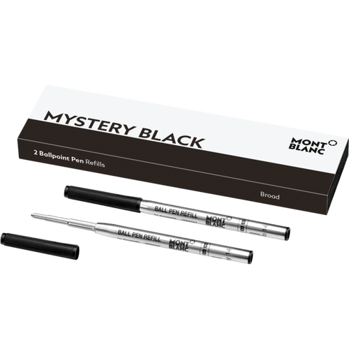 Montblanc Mystery Black Ballpoint Refill Broad