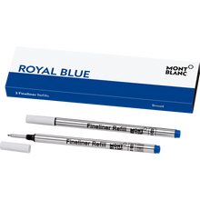 Montblanc Royal Blue Fineliner Broad