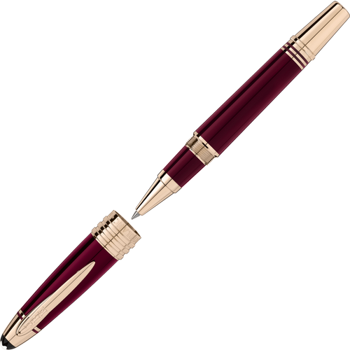 Montblanc John F. Kennedy Special Edition Burgundy Rollerball Pen