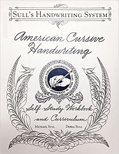 American Cursive Handwriting by Michael Sull