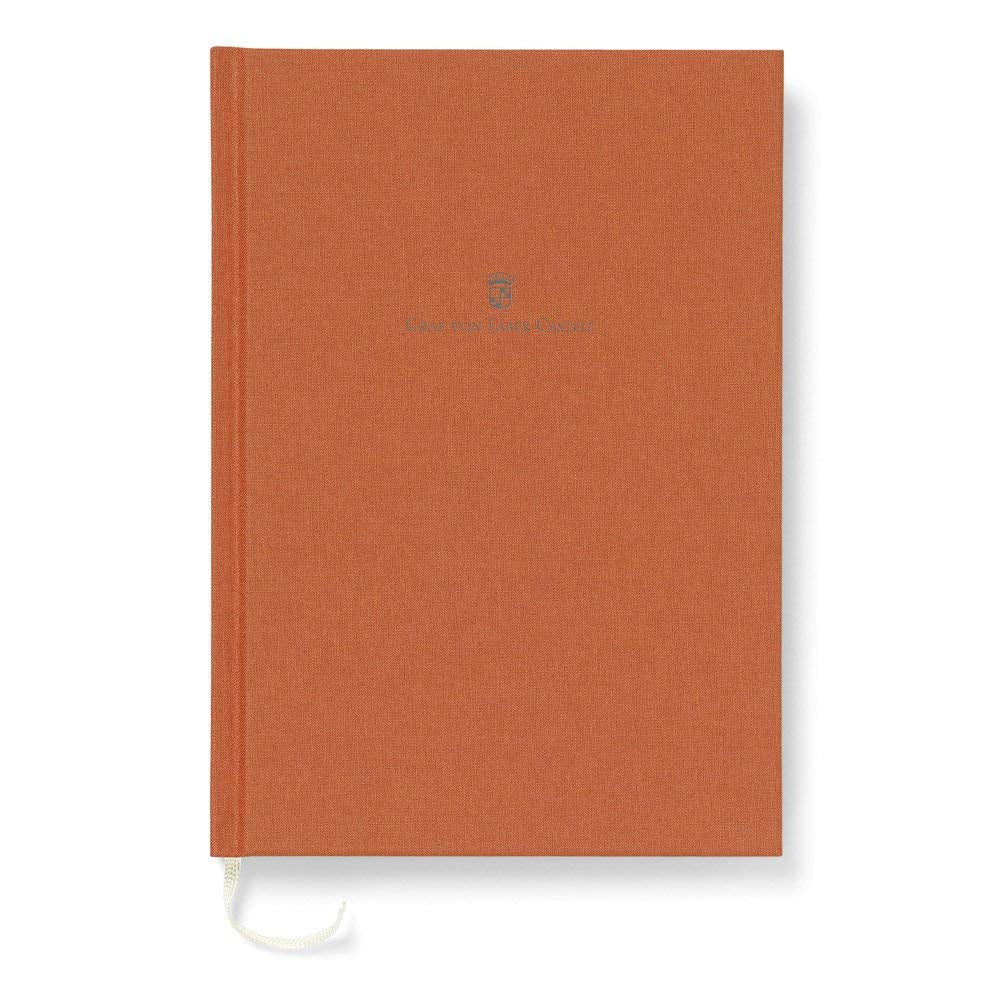Graf von Faber-Castell Linen-bound book A5 Burned Orange