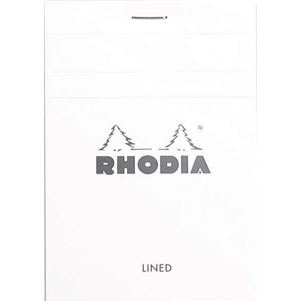 Rhodia - Ice Notepad Top Staplebound 3 3/8 x 4 3/4 Lined 80 sheets