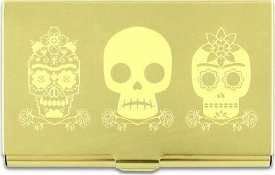 Acme Studio Card Case 3 Skulls