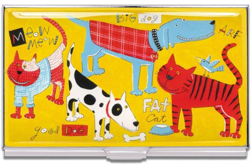 Acme Studio Card Case Cats & Dogs