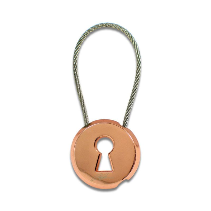 Acme Studio Keyhole Key Ring - Multicolored - Accessories