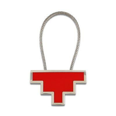 Acme Studio Single Pixel Key Ring